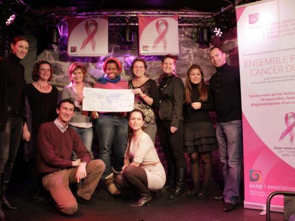 Joies partagées entre la JCI Soutien Up et les femmes de la future Antenne Femmes Jeunes.