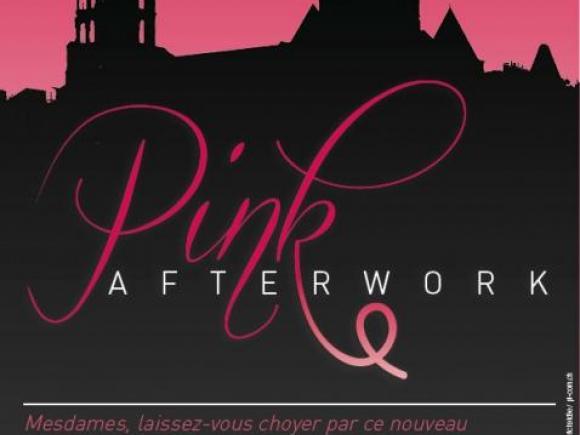 Pink Afterworks au Bleu Lézard à Lausanne